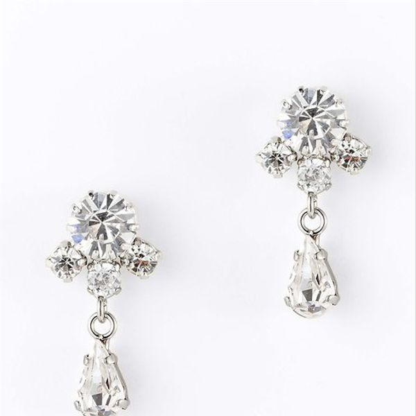 Ann Taylor  Small Crystal Drop Earrings