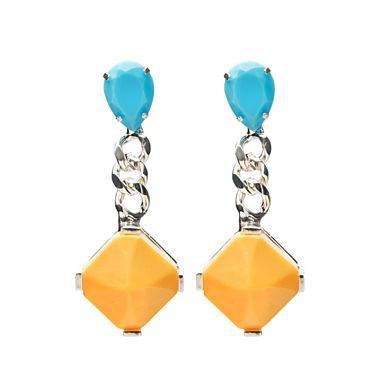 Fenton  Multicolor Drop Earrings