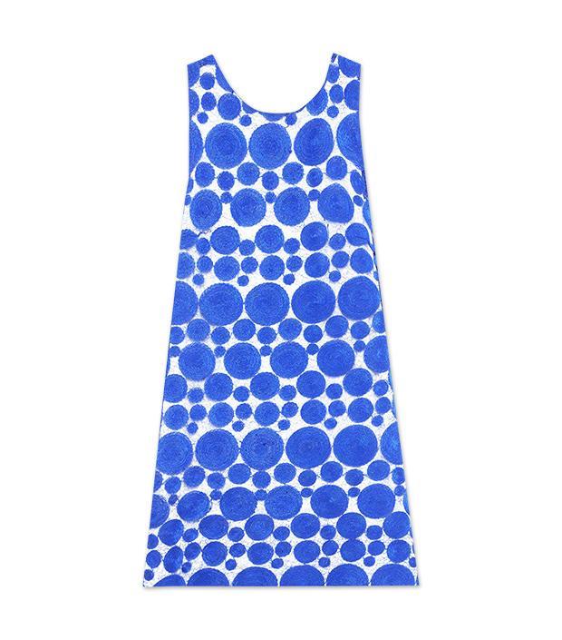 Alice + Olivia Dot Sleeveless Shift Dress ($396)