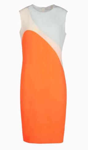 Stella McCartney Satin Cleo Dress