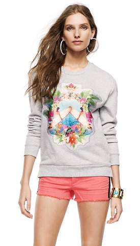 Juicy Couture Paradise Patch Pullover