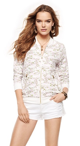 Juicy Couture Ditsy Camo Jersey Jacket