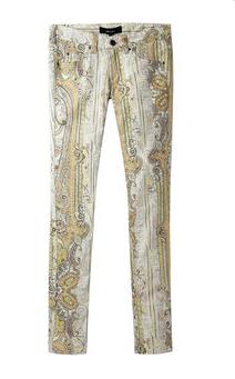Isabel Marant Jalyne Paisley Skinny Jeans