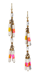 Isabel Marant Howlite Beaded Earrings