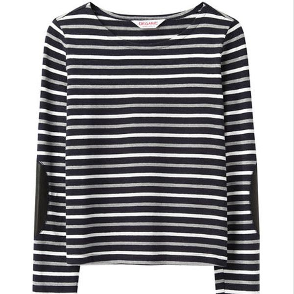 Organic By John Patrick  Striped Pullover