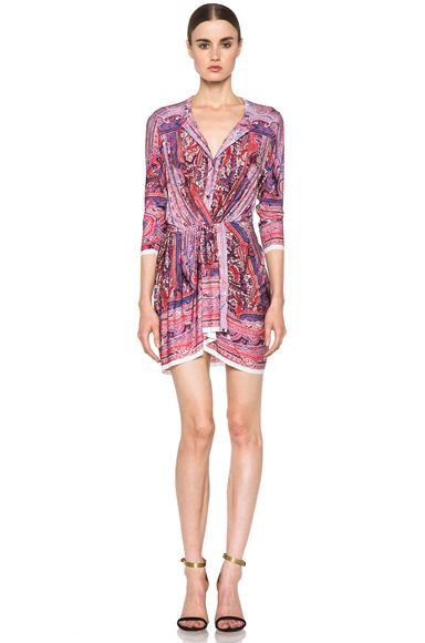 Isabel Marant Maryloe Mankolam Dress