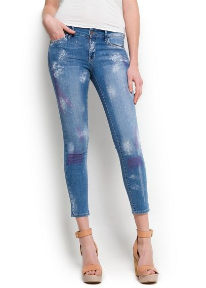 Mango Super Slim Jeans