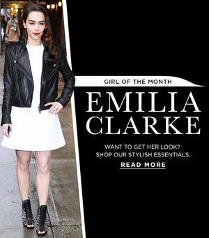 Emilia Clarke Inspires Our Latest Fashion Picks