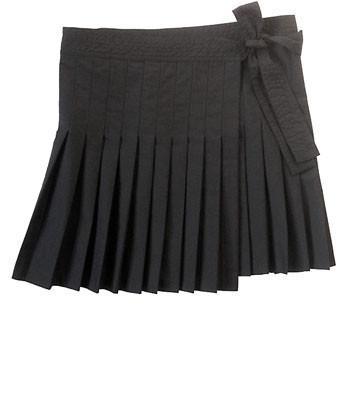 Friends & Associates Ally Pleated Wrap Skirt