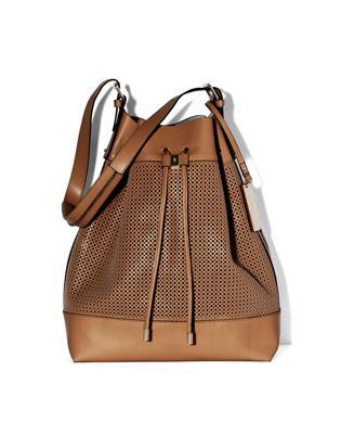Vince Camuto  Perf Drawstring Bag