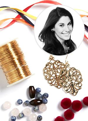 Craft Your Own Runway-Inspired Raffia Earrings Today