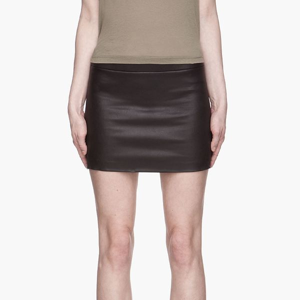 6397 Black Mini Skirt