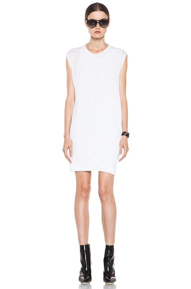 3.1 Phillip Lim  Distressed Double Layered Dress