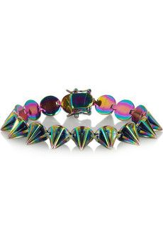 Eddie Borgo  Lotus Ionized Cone Bracelet