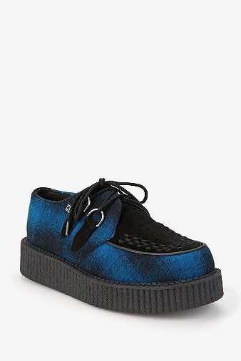 T.U.K. Low Sole Wedge Creeper