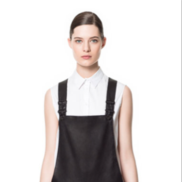 Zara Leather Studio Jumpsuit