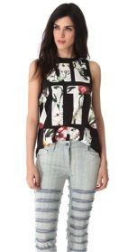 3.1 Phillip Lim 3.1 Phillip Lim Get It Girl Tank
