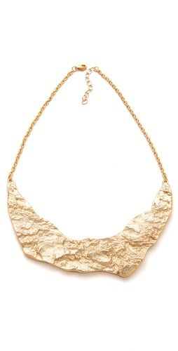 Rose Pierre Banyan Tree Bark Collar Necklace