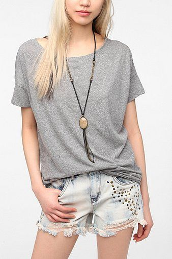 Truly Madly Deeply Wedge Boyfriend Tee Shirt
