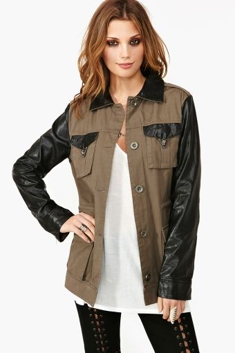 Nasty Gal Dark Allies Jacket