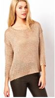 ASOS Oasis Sparkle Pop Sweater