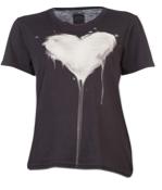 Real Eyes Realise Dripping Heart Boyfriend T-Shirt