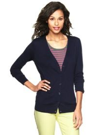 Gap Gap Luxlight V-Neck Cardigan