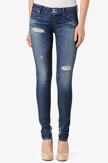 Hudson Collin Skinny Jeans in Youth Vintage