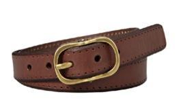 Fossil  Vintage Perf Belt