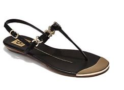 DV Dolce Vita  Alta Leather T-Strap Sandals