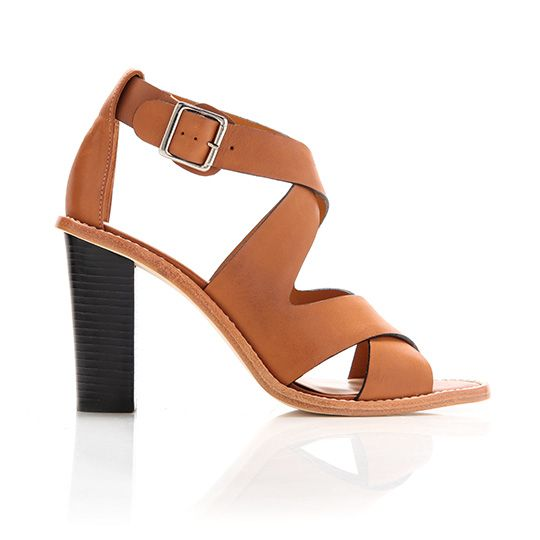 Loeffler Randall Evie Stacked Heel Sandals