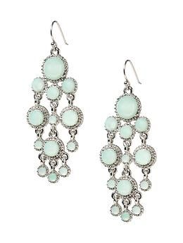 Banana Republic  Celadon Chandelier Earrings