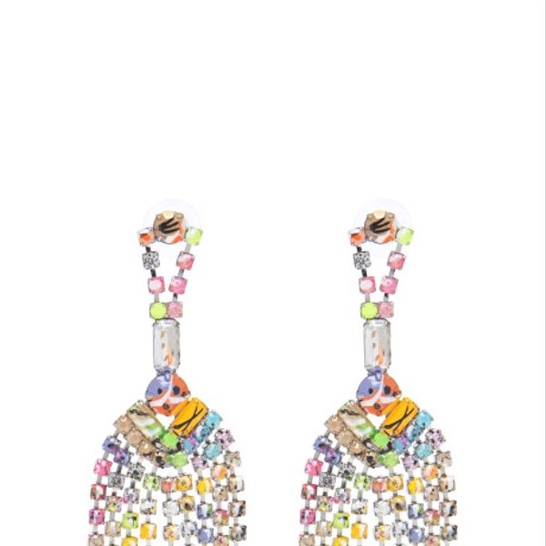 Tom Binns  A Riot (Of Colour) Tassel Earrings