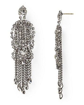 Carolee  Lux Chandelier Earrings