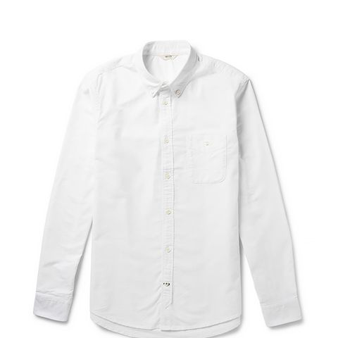 Derek Button-Down Collar Cotton Oxford Shirt