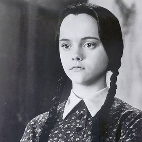 4. Wednesday Addams from The Addams Family
