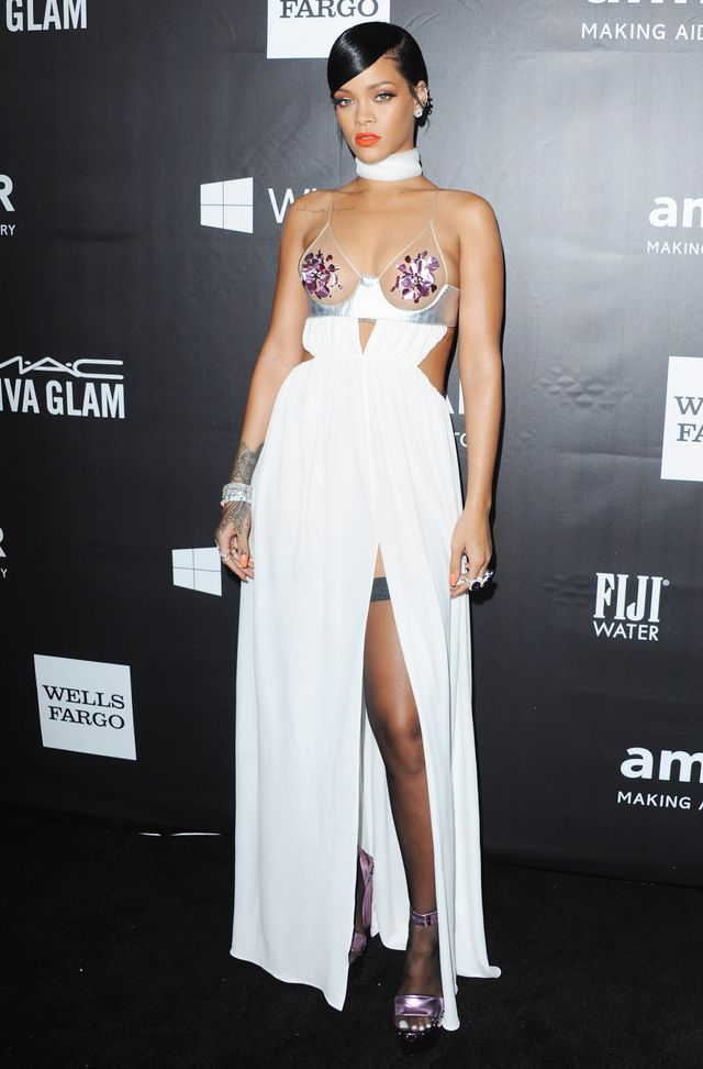 You HAVE to See the Revealing Dress Rihanna Just Wore