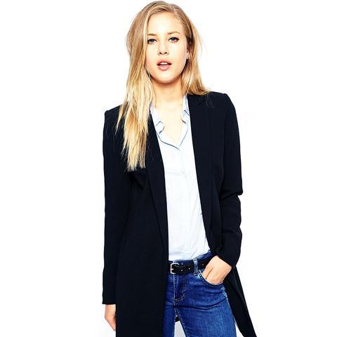 Longerline Tailored Jacket