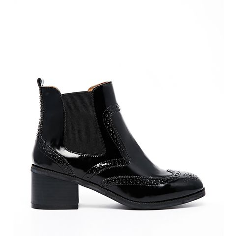 Chelsea Brogue Ankle Boots