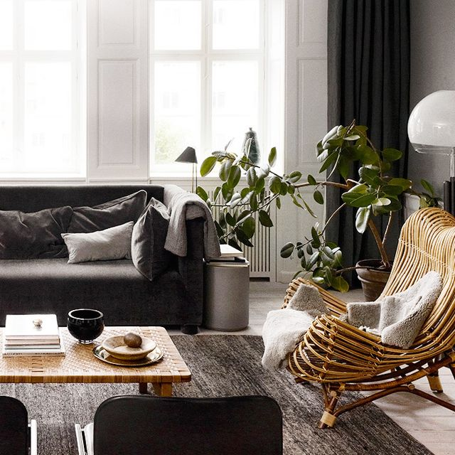 Get the Look: A Chic Gray Lounge