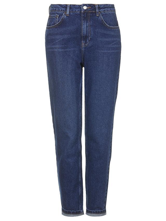 Topshop Moto Blue Mum Jeans