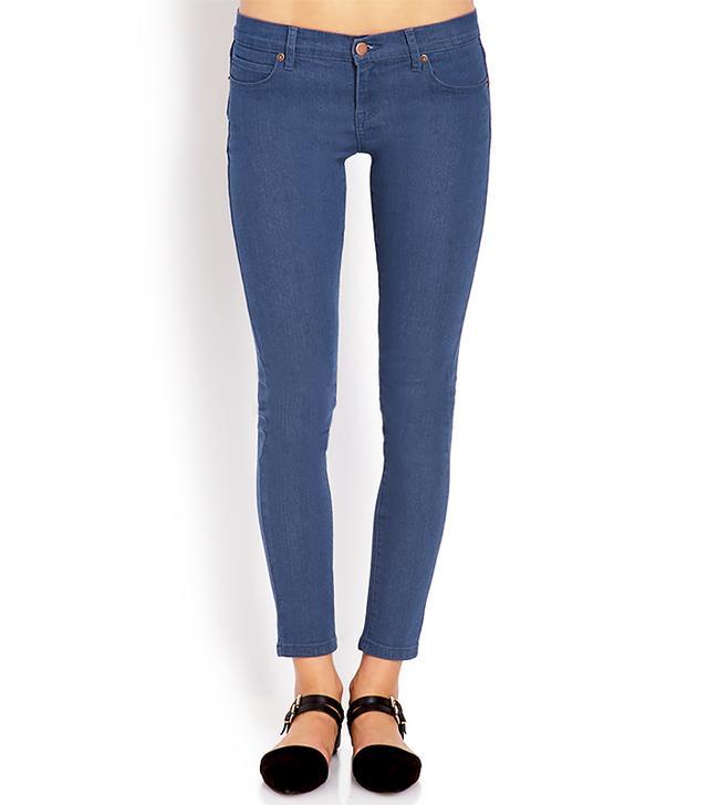 Forever 21 Favorite Ankle-Length Skinny Jeans