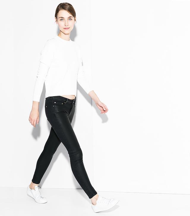 Mango Skinny-Fit Motor Jeans