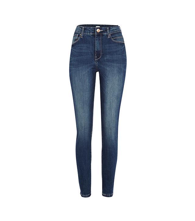 River Island Dark Wash Lana Superskinny Jeans