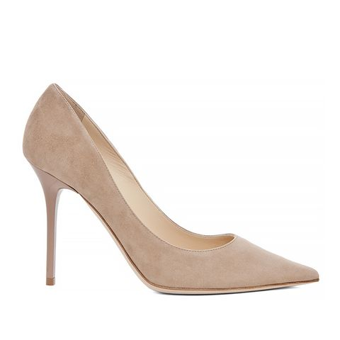 Abel Suede Pumps in Nude