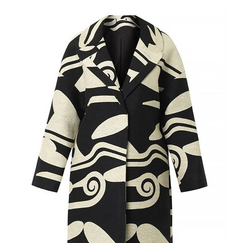 Daphnis Wool Cocoon Coat