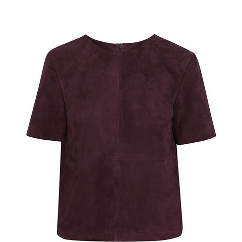 Aria Suede Top