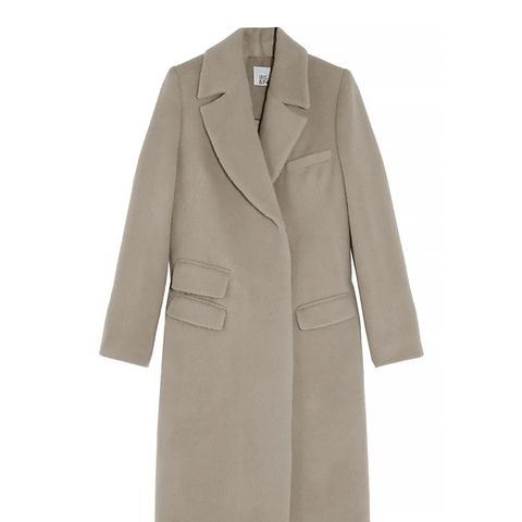 Aimee Brushed Wool Coat