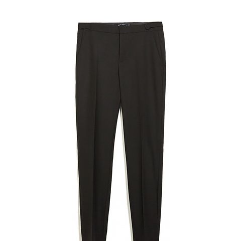 Trousers with Detailed Waistband