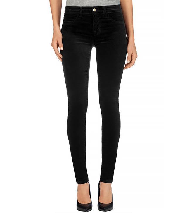 J Brand Velvet Super Skinny Jeans